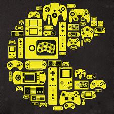 POSTER – Pacman da vecchia scuola Gaming dispositivi e piattaforme di controllo (Nintendo ART)