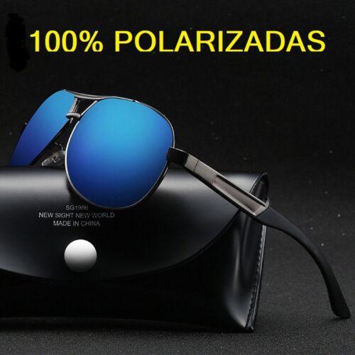 Lens HD Aoron Blue Gran Calidad ESTUCHE REGALO. Gafas de sol Polarizadas