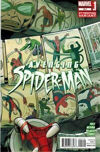 Avenging-Spiderman-15-1-2nd-Estampado-Variante-Extremo-Amazing-700-Superior-1-NM