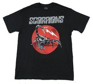 Scorpions-Jack-Stinger-Black-T-Shirt-New-Official-Band-Merch
