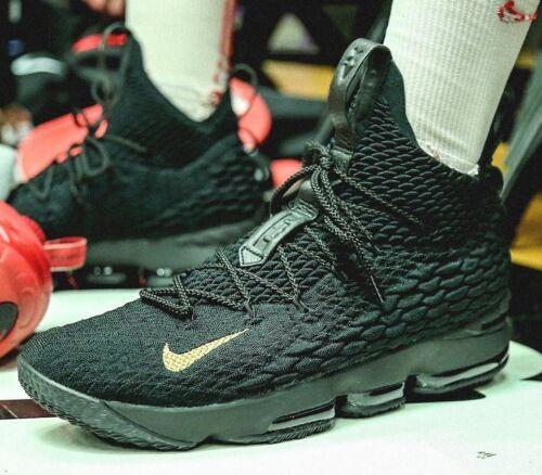 o Xv 897648 Lebron Tama Negro 795309 Pe Pk80 Nike 15 13 Oro fFOCw