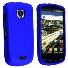 Hard Rubberized Case for Samsung Droid Charge 4G LTE i510 - Blue