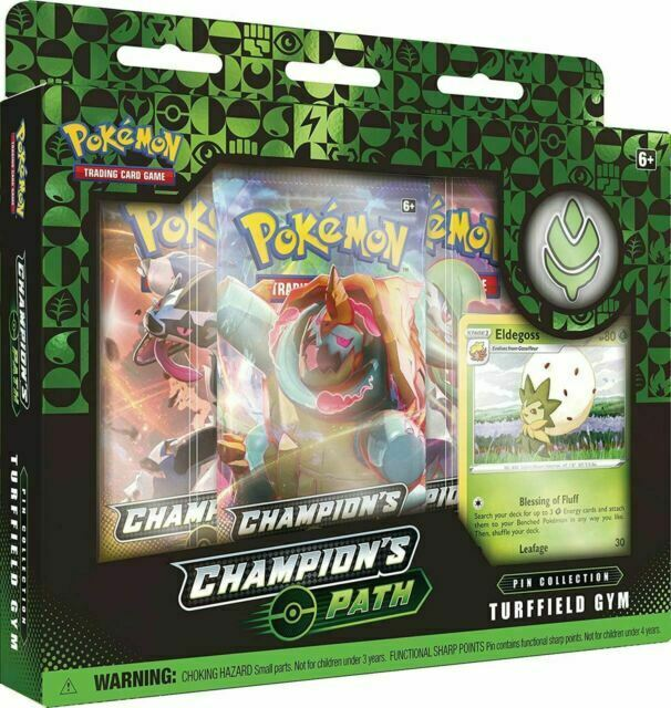 Pokemon Route des Champs Badges Pin Combat Medal Pass Beck NEW
