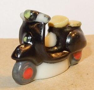 1960 Scooter Vespa Piaggio Noir Feve Porcelaine 3d Ho 1/87 Qhkadtmk-07221039-346980535