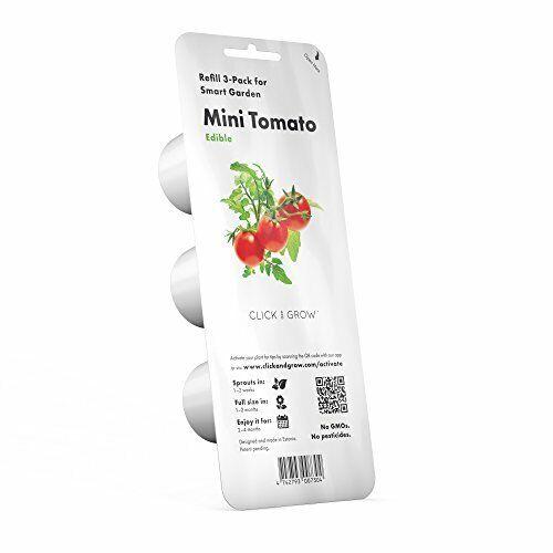 emsa Substratkapsel CLICK and GROW MINI TOMATEN Smart Garden 3er Set neu