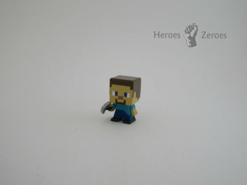 Minecraft poitrine série 3 Steve avec pioche Mystère figure neuf 2017