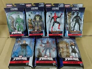 Marvel-Legends-Molten-Man-BAF-Set-Scorpion-Spiderman-Hydroman-Mysterio-NEW