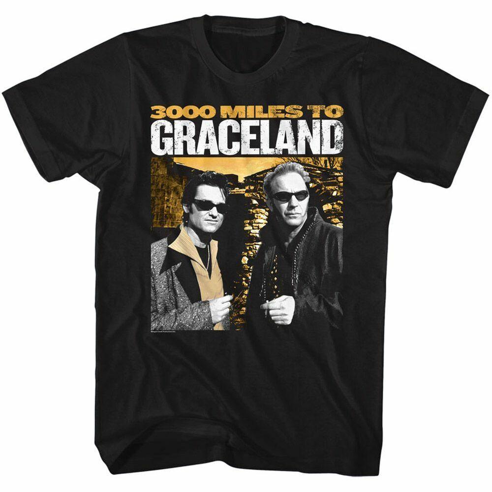 4828km Pour Graceland - 3k Miles - Américain Classiques - Adulte T-shirt