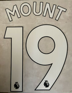Flocage Nameset MOUNT #19 Chelsea 2019-2020 Home Domicile 2020-2021