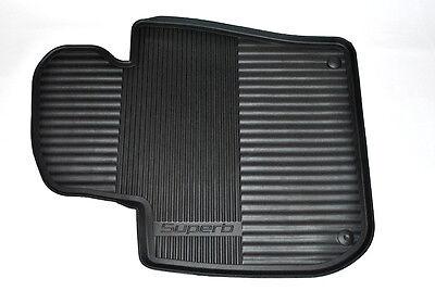 Gummi Fußmatten Gummimatten Auto passend für Skoda Superb 2 2008-2015 3T4 3T5
