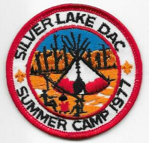 Details about 1977 Summer Camp Silver Lake Denver Area Council Patch Boy  Scouts of America BSA