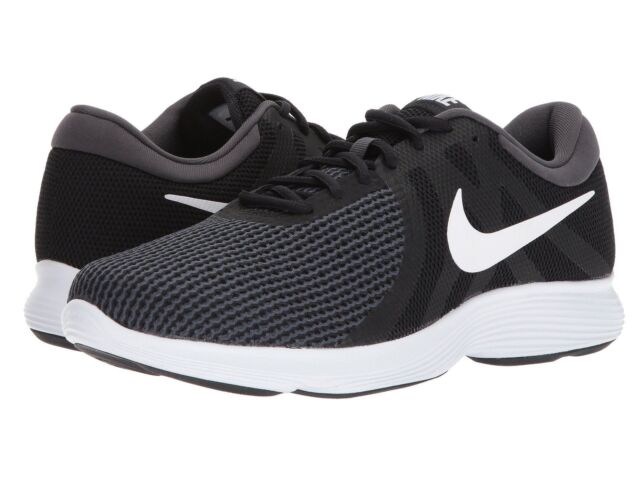 Lightweight Revolution Nike Running Shoe 4 White Black 9 Sale For R4L5Aj