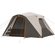 Bushnell Shield Series 11u0027 x 9u0027 Instant Cabin Tent ...  sc 1 st  eBay & Family Camping Screened Tent 6 Person Hinged Door Strong Frame ...