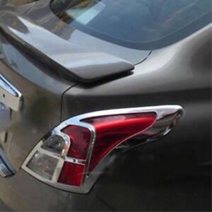 Image Is Loading Chrome Rear Tail Light Lamp Cover Trim For