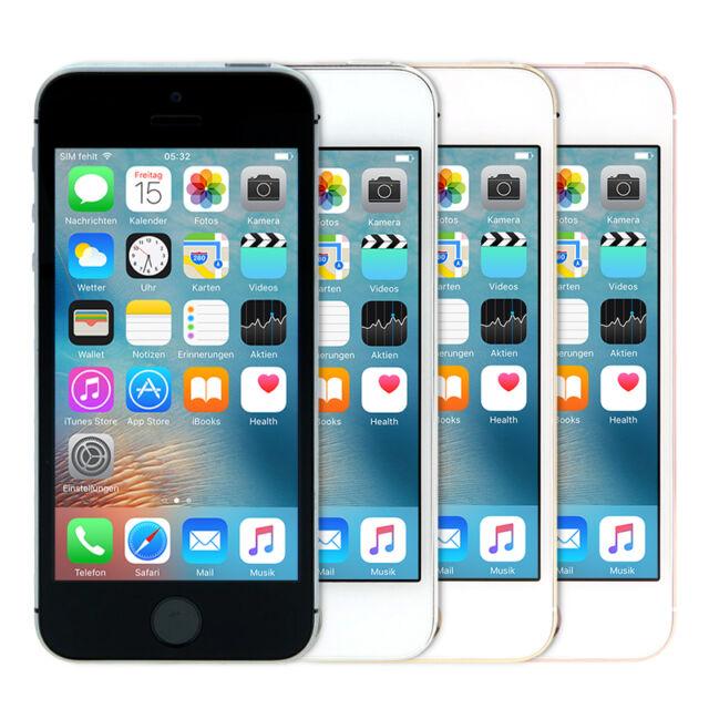 Apple iPhone SE 64GB verschiedene Farben - ohne Simlock Top Zustand!