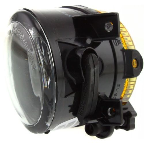 Plastic Lens Passenger Side Fog Light Clear Lens For Volkswagen Eos 07-11