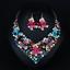 Fashion-Women-Pendant-Crystal-Choker-Chunky-Statement-Chain-Bib-Necklace-Jewelry thumbnail 12
