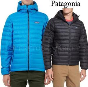 Mens Patagonia Down Sweater Hoody Weather Ready Lightweight