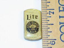 Miller Lite Can (Black Lettering) Beer Pin **
