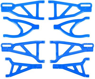 Aluminum Front+Rear Upper Lower Arm Fit Traxxas Revo Nitro 2.5//3.3 Summit E Revo