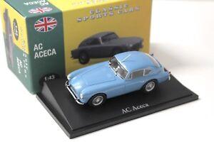 1:43 Atlas By Norev AC Aceca blue Classic Sport Cars NEW bei PREMIUM-MODELC<wbr/>ARS