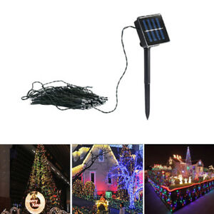 Christmas-Fairy-Lamp-50LED-Solar-Powered-String-Light-Garden-Outdoor-Party-Decor