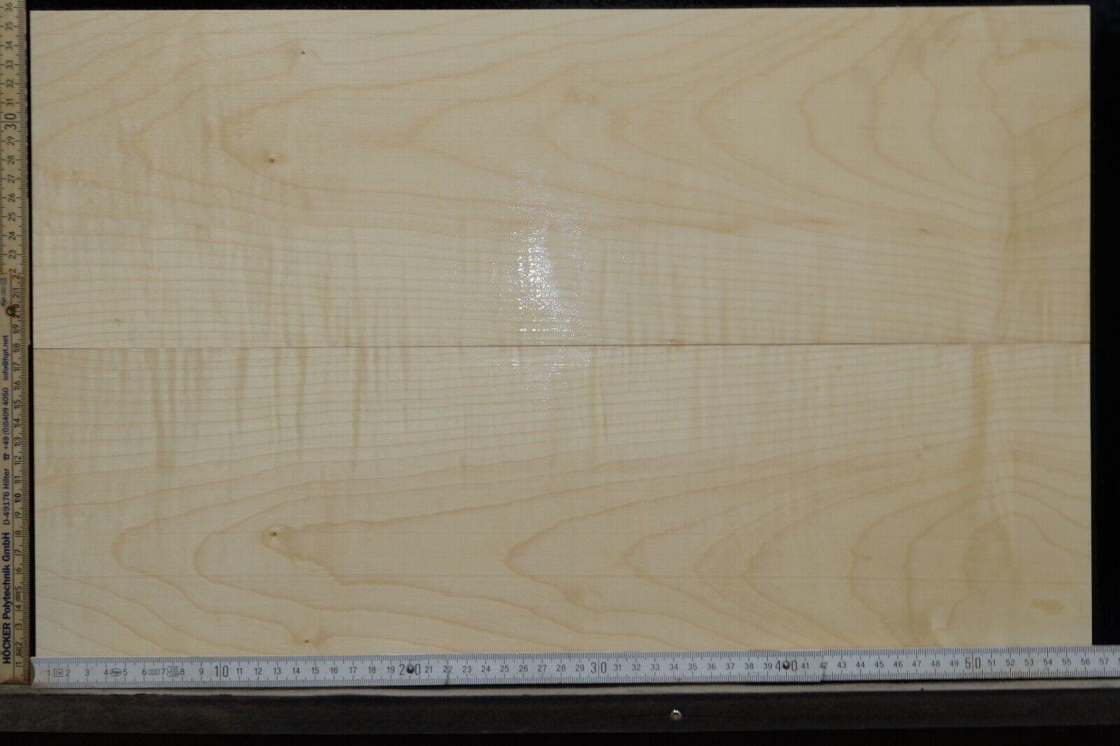 Tonewood Riegel Ahorn Flamed Maple 7,0 mm Aufleimer Guitar Tonholz Droptop 455