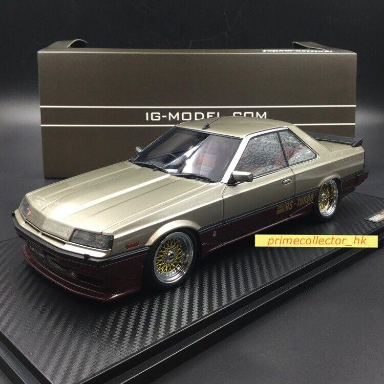 Ignition models 1 18 NISSAN Skyline 2000 Rs-X Turbo-C (R30) Argent Rouge IG0993