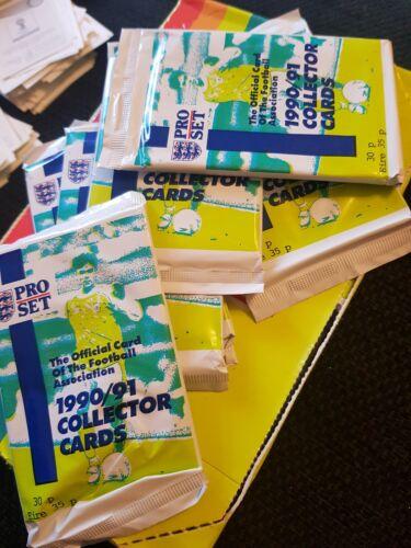 Emballages fermés Pro Set 1990//91 COLLECTOR cartes