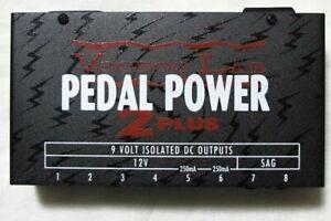 Sensible Utilisé Voodoo Lab Pedal Power 2 Plus + Pédale De Guitare Alimentation!-afficher Le Titre D'origine Bonne RéPutation Sur Le Monde