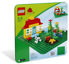 Lego Duplo 2304 Large Building Plate Green