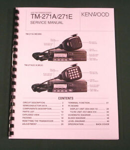 kenwood tm 271a service manual premium card stock covers 28lb rh ebay com tm 271a service manual HMMWV Manual TM