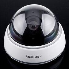 Wireless Dummy IP Camera Fake Security Webcam Flashing LED Surveillance Monitor