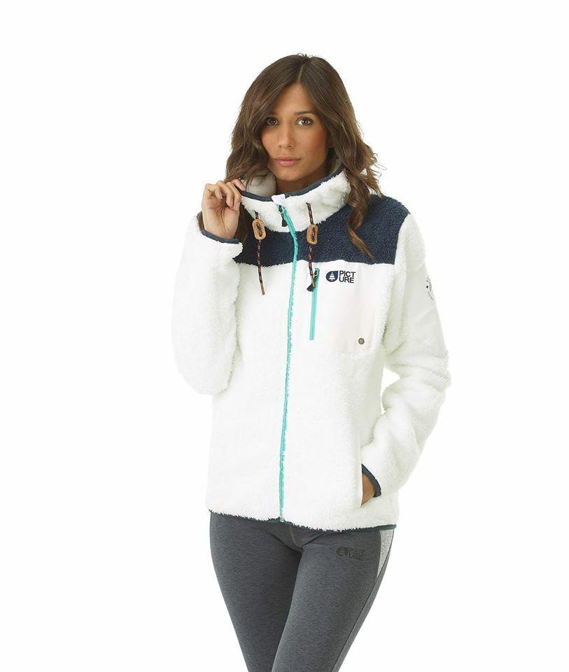 Picture Organic Izimo Midlayer Ski Snowboard damen Jacket- Medium Weiß