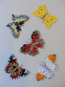 Quilling Designs for Butterflies