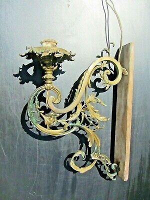 Vorsichtig Alte Lampe Wandlampe Historismus