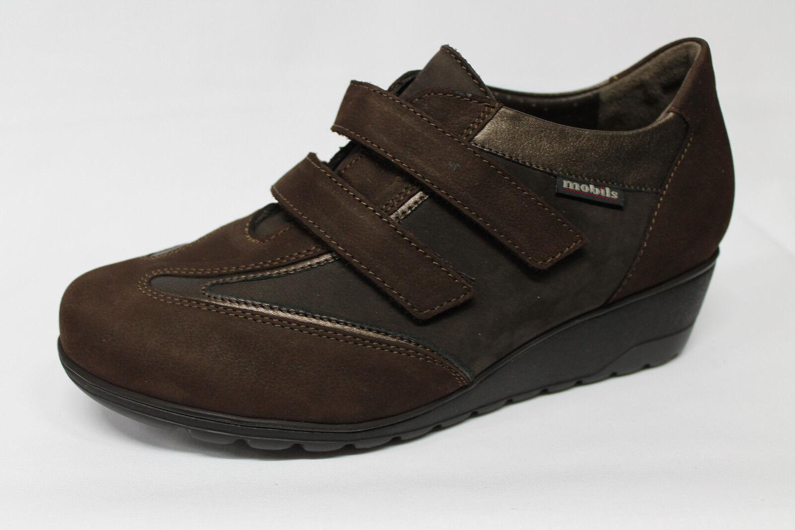 zapatos Mephisto Mobils Ergonomic Gigie Gigie Gigie nabuck marrón listino - 20% 90445a