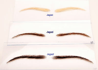 Eye Brows. Instant Glamour. A pair made from 100% Human Hair strands. Options