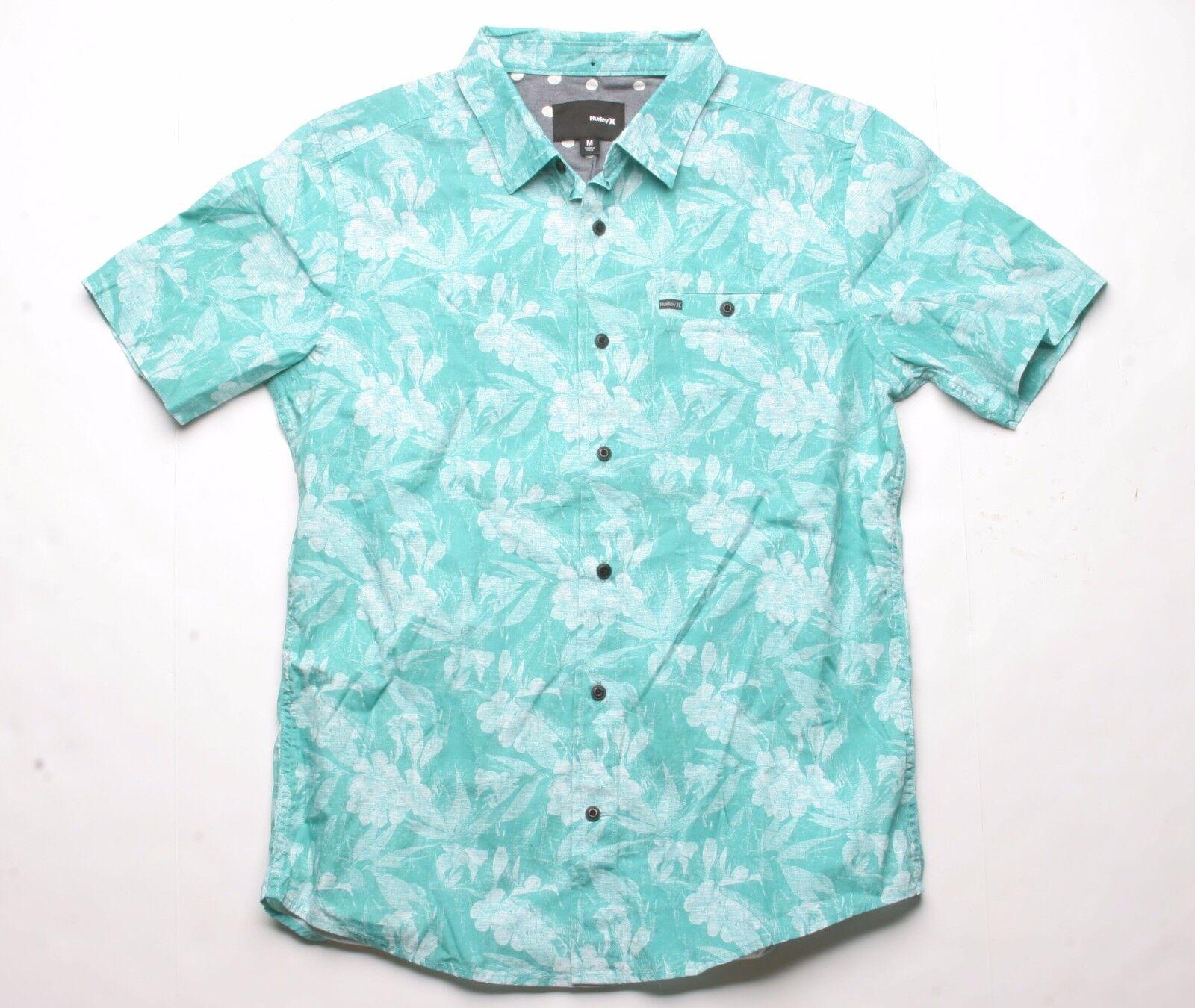Hurley Belise Woven Shirt (Green) M