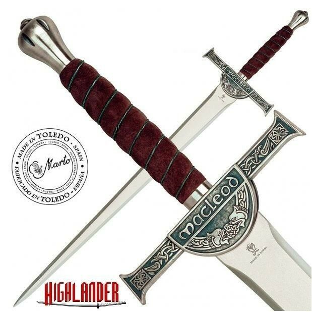 Official Marto Connor Macleod Sword - Highlander Authentic TV   Movie Replica