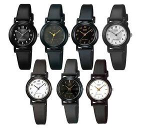 Casio-LQ139-Women-039-s-Black-Resin-Band-Black-or-White-Dial-Casual-Analog-Watch
