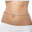 Boho-Waist-Chain-Silver-Gold-Coloured-Body-Chain-Harness-Jewelry-Shiny-Sexy thumbnail 1