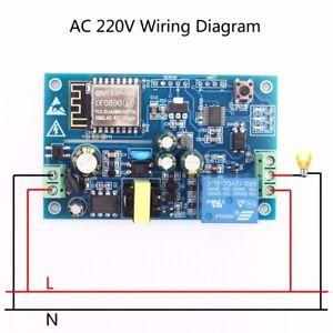 AC-220V-ESP8266-WiFi-Relay-Module-Remote-Control-Switch-APP-Control-Home-Smart