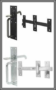 SUFFOLK-LATCH-GARDEN-GATE-DOOR-THUMB-LOCK-OUTDOOR-COTTAGE-STYLE-BLACK-OR-GALV