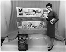 Old Photo. Supplies For Fallout Shelter - Federal Emergency Management Agency