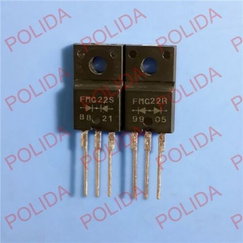 1pairs or 2PCS Super Fast Recovery Rectifiers DIODE SANKEN TO-220F FMG22R//FMG22S
