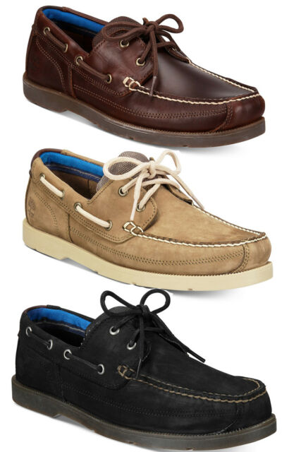 Timberland Mens Piper Cove Two Eye Lace Up Moc Toe Casual Boat Shoes Kicks