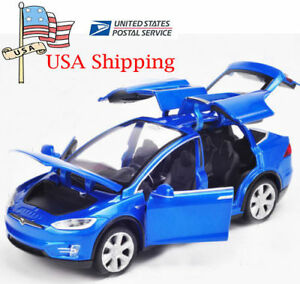 US-1-32-Tesla-Model-X-90D-SUV-Diecast-Model-Car-w-Sound-amp-Light-Pull-Back-CAR-Toy