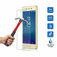 100% Real Ultra Clear Tempered Glass Film Screen Protector For Sony Xperia x