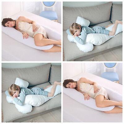 Appena 9ft Cuscino A Forma Di U-totale Body Comfort Ideale Per L'utilizzo Di Maternità Gravidanza &- Costo Moderato